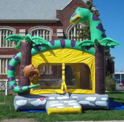 Buffalo Dinosaur Bounce House