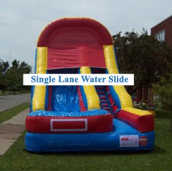 Buffalo Inflatable Water Slide
