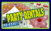 Party Rentals - Tables, Tents, Chairs
