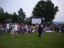 outdoor movies theatre